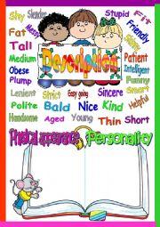 English Worksheets: Description people
