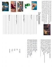 English Worksheet: Tangled booklet - part 2/4