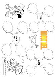 English Worksheets: About me!
