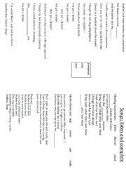 English Worksheet: tangled booklet - part 4/4