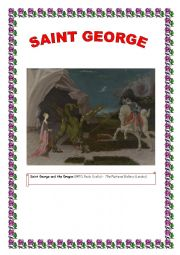 SAINT GEORGE´S DAY