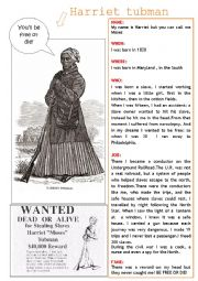 harriett tubman notes Harriet tubman: the road to freedom summary & study guide includes detailed chapter summaries and analysis, quotes, character descriptions, themes, and more.