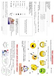 English Worksheets: travelbook2 : transport and first impressions