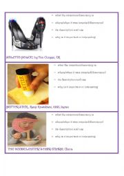 English Worksheet: Wierd Inventions PART 2