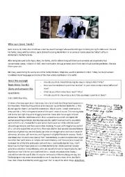 anne frank s diary worksheet esl worksheet by miss agus. Black Bedroom Furniture Sets. Home Design Ideas
