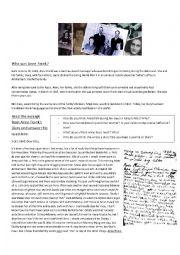 Anne Frank´s Diary Worksheet