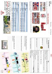 English Worksheets: travelbook7: shopping