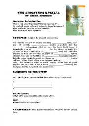 English Worksheets: The Fruitcake Special Activities