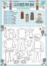CLOTHES FOR HIM (2 PART)