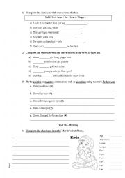 English Worksheets: Body test 2