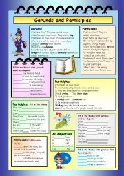 Gerunds and Participles