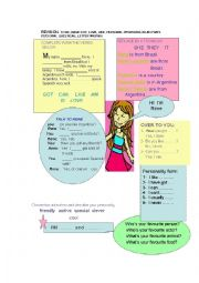 English Worksheets: revision for young learners