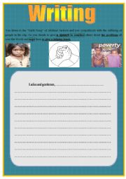 English Worksheets: writing N�3 for 9th formers