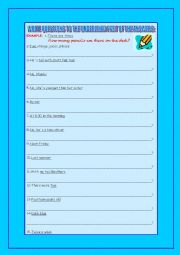English Worksheets: ASK QUESTIONS 2