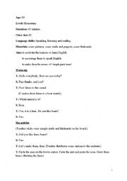 English Worksheets: story telling plan in class