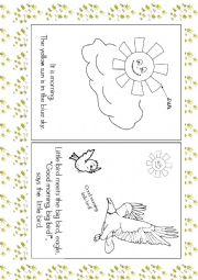 English Worksheets: Good Morning book
