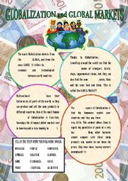 English Worksheets: What is Globalization?