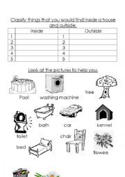 English Worksheets: Classify things