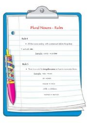 English Worksheets: plural nouns