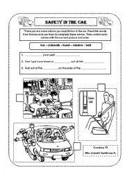 english worksheets car worksheets page 15. Black Bedroom Furniture Sets. Home Design Ideas