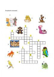 English Worksheet: Animals at home - Part II