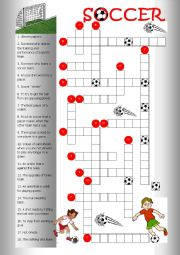 Crossword Soccer