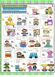English Worksheet: Doesn�t and Don�t
