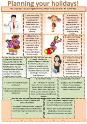 English Worksheets: Holidays are coming. Discussions