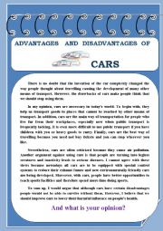 Essay of cars