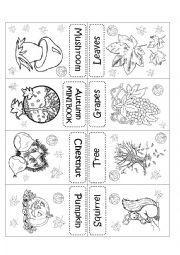 English Worksheets: AUTUMN MINI BOOK