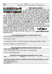 English Worksheets: UNICRF