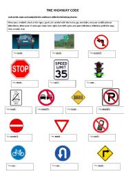Worksheets Safety Sign Worksheets english teaching worksheets road signs signs