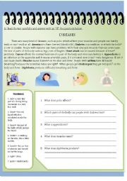 Diseases (Reading Comprehension)