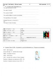 English Worksheet: Pair work speaking test for 1st year secondary education