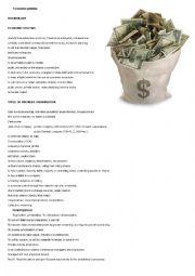 english worksheets types of economy. Black Bedroom Furniture Sets. Home Design Ideas