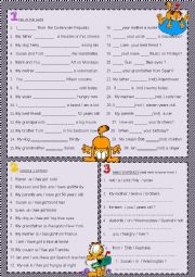 English Worksheet: verb to be vs verb to have (part 1 )