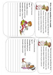 English Worksheet: A letter to a new pen-pal. (10 letters, 5 pages)