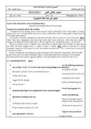 drought - ESL worksheet by batoulchimaa
