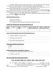 9th Form Worksheet 39