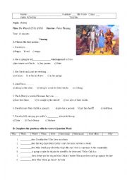 English Worksheet: The film �The Wizard of Oz�