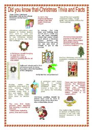 christmas trivia and facts - Christmas Trivia Facts