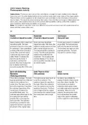 English Worksheet: Islamic banking