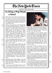 Michael Jackson´s obituary