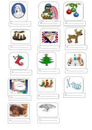 Christmas Alphabet-Part 2 with answer key