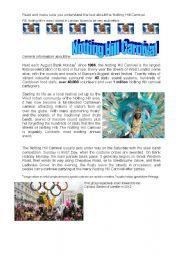 Notting Hill Carnival general information