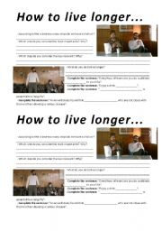 How to Live Longer - video