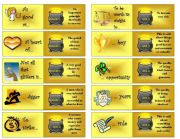 Gold phrases dominoes