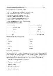 English Worksheets: Hello-8 th grade