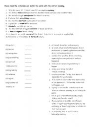 English Worksheets: vocabpool