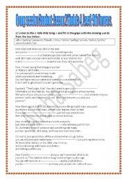 English Worksheet: Internet Safety